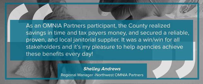 Regional Manager Shell Andrews Speaks on the Network Distribution OMNIA Partners Partnership