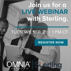Sterling webinar OMNIA Partners